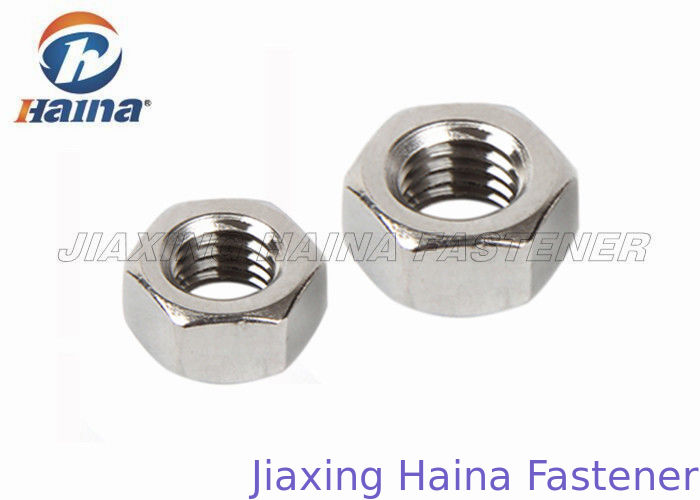Stock Stainless Steel 304   M6 - M36 DIN 934 Hex Head Nuts For Fastening